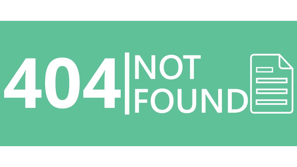 404エラー
